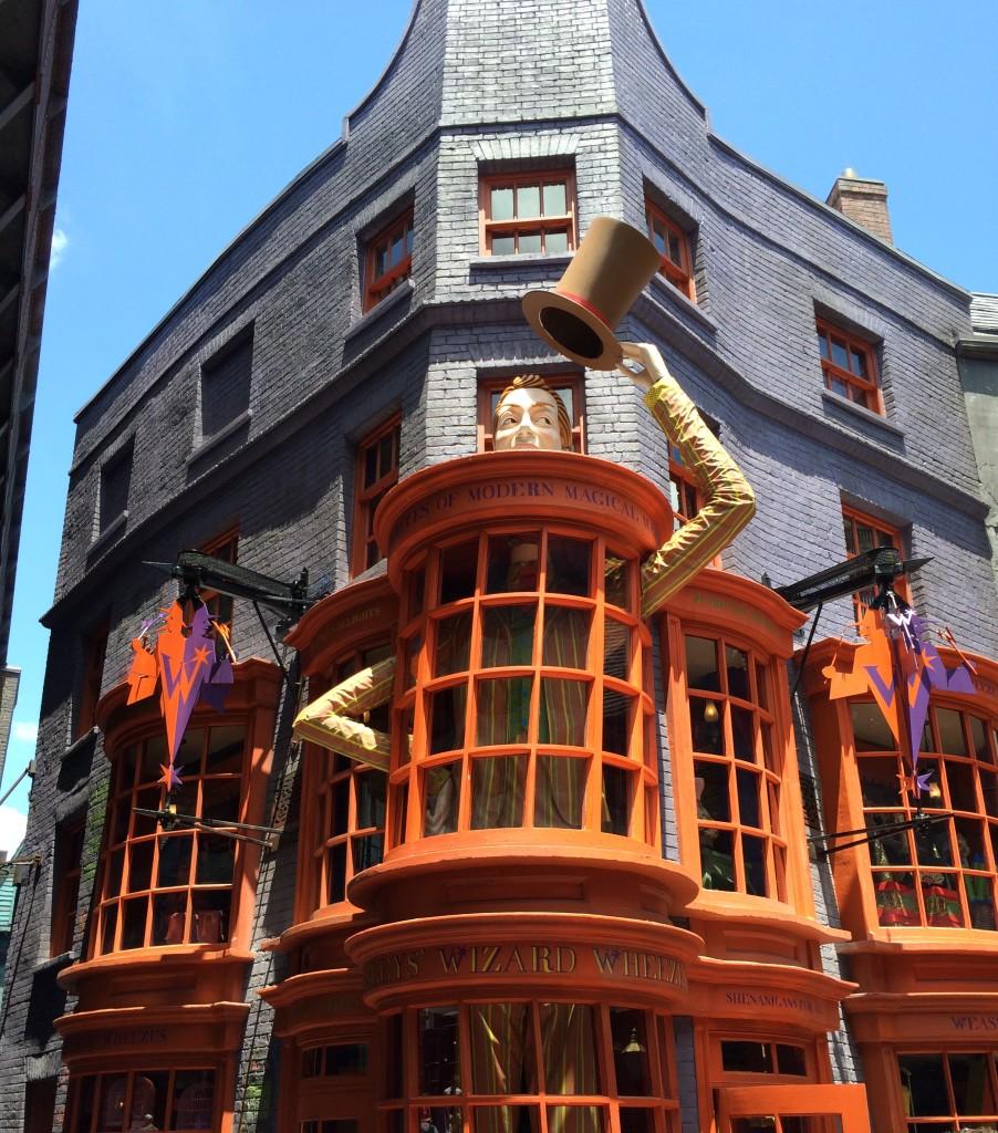 Weasley's Shop in Diagon Alley